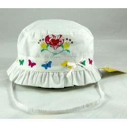 Cappello Bambina con Disegni Avanti
