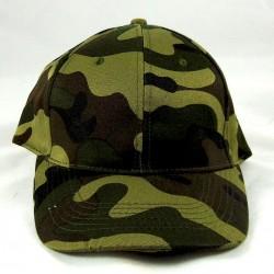 Cappello Visiera Mimetico