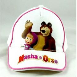 Cappello Visiera Masha e Orso