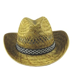 Cappello Paglia Cow-Boy