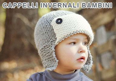 Cappelli invernali per bambino